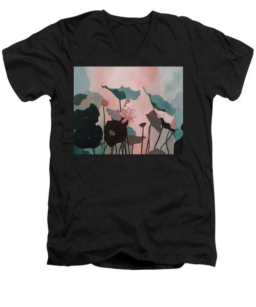 Enchanted Garden Men's V-Neck T-Shirt
