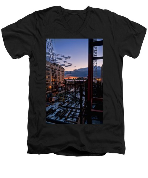 End Of The Day Men's V-Neck T-Shirt