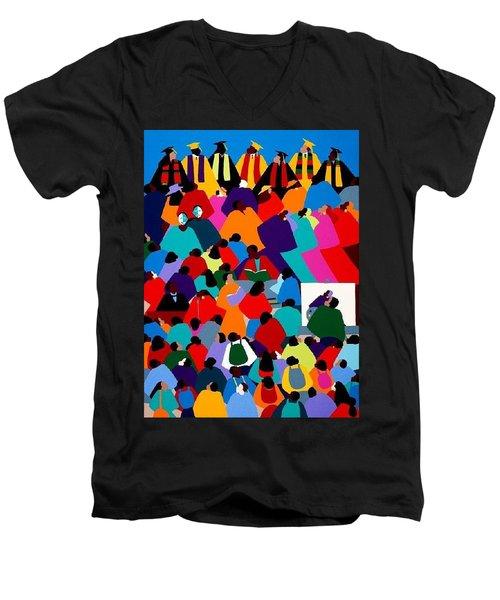 Enlightenment Asu Men's V-Neck T-Shirt