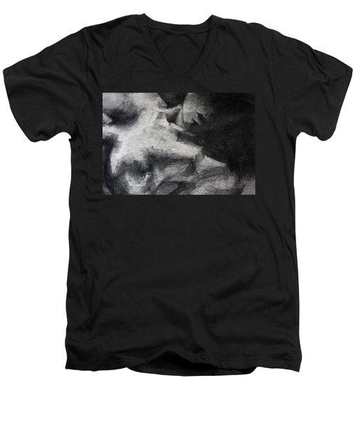 Erotic Sketchbook Page 1 Men's V-Neck T-Shirt