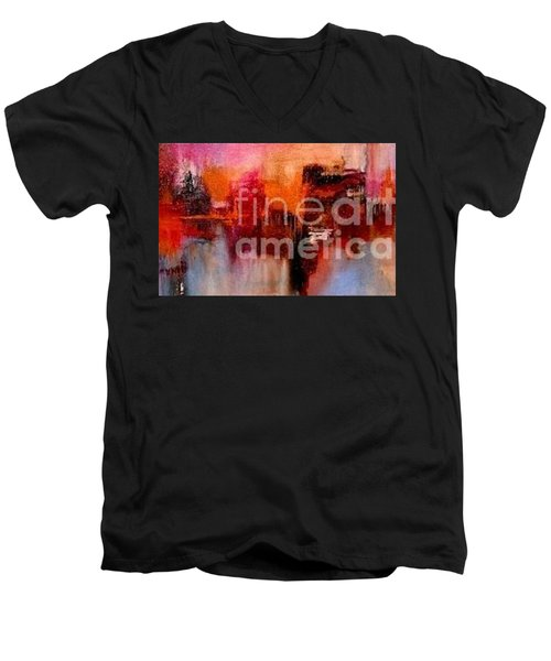 Espressions Of Reflections Men's V-Neck T-Shirt