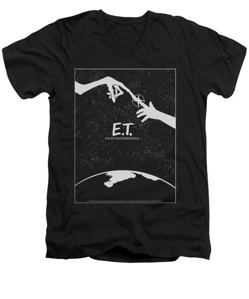 Et - Simple Poster Men's V-Neck T-Shirt by Brand A