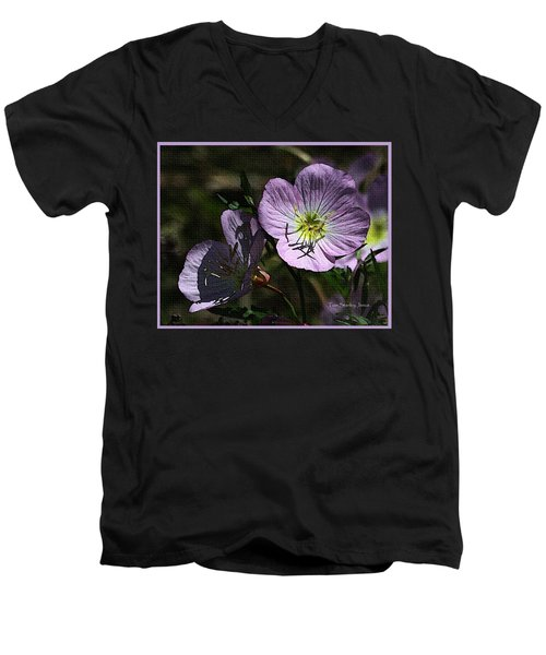 Evening Primrose Men's V-Neck T-Shirt