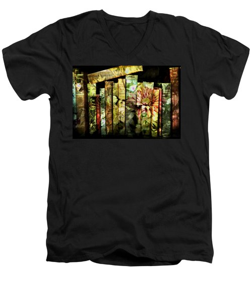 Evie's Book Garden Men's V-Neck T-Shirt
