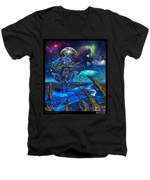 Evolutionary Space Men's V-Neck T-Shirt