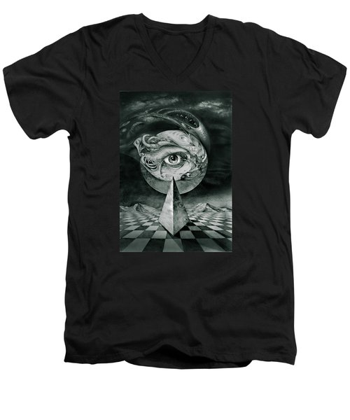 Eye Of The Dark Star Men's V-Neck T-Shirt