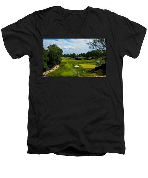 Fairways Greens Men's V-Neck T-Shirt