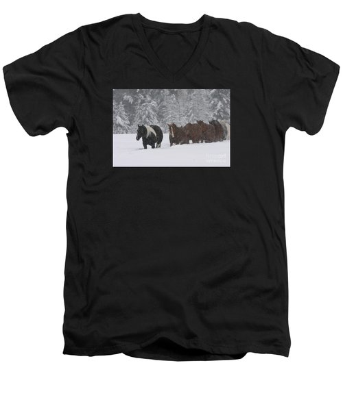 Faith Will Bring You Home Men's V-Neck T-Shirt