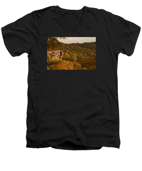 Fall Bounty Men's V-Neck T-Shirt