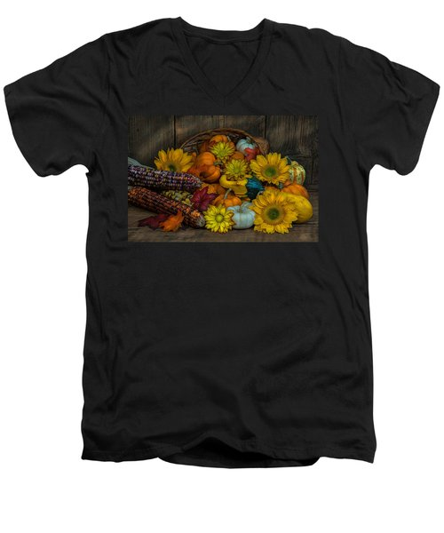 Fall Has Arrived Men's V-Neck T-Shirt