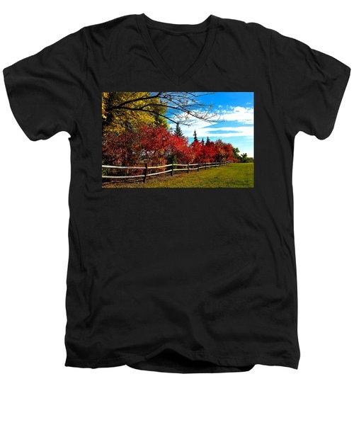 Fall Lineup Men's V-Neck T-Shirt