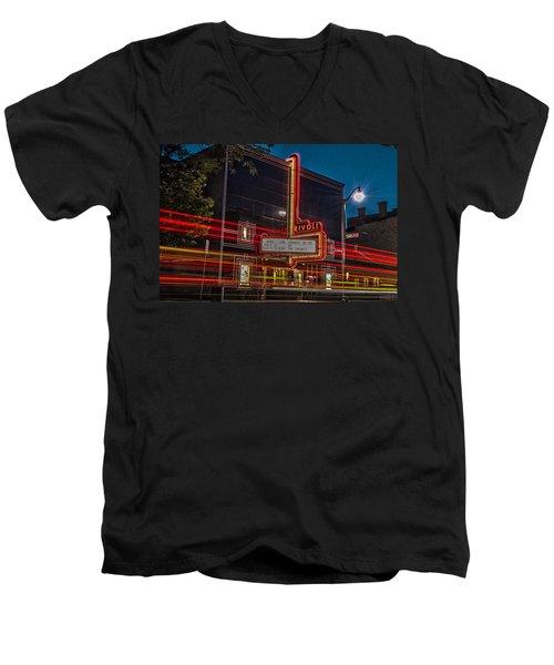 Famous Rivoli Men's V-Neck T-Shirt