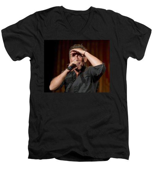 Fan Scan Men's V-Neck T-Shirt