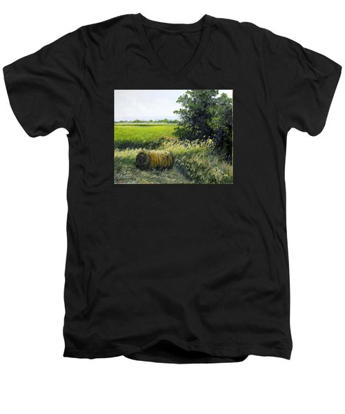Farmland Men's V-Neck T-Shirt