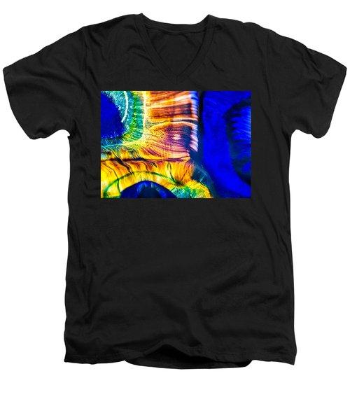 Fast Friends Men's V-Neck T-Shirt