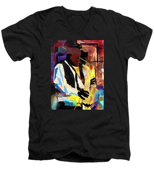 Fathead Newman Men's V-Neck T-Shirt