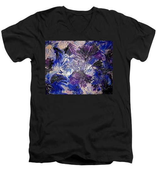 Feathers In The Wind Men's V-Neck T-Shirt
