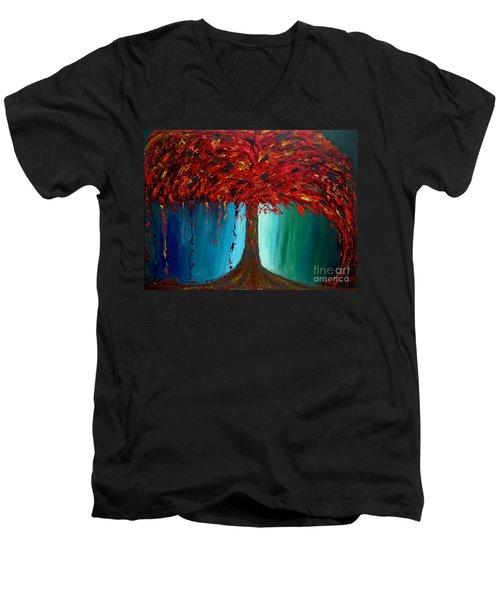Feeling Willow Men's V-Neck T-Shirt