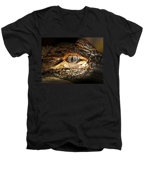 Feisty Gator Men's V-Neck T-Shirt