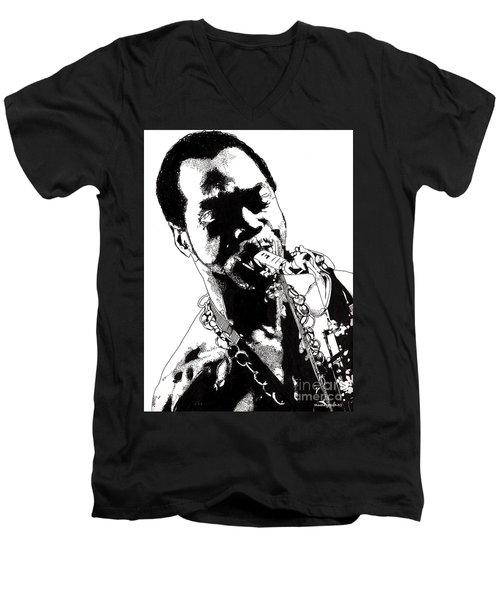 Fela Kuti Men's V-Neck T-Shirt