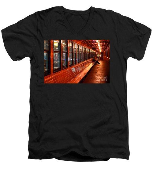Ferry Boat Riders Men's V-Neck T-Shirt