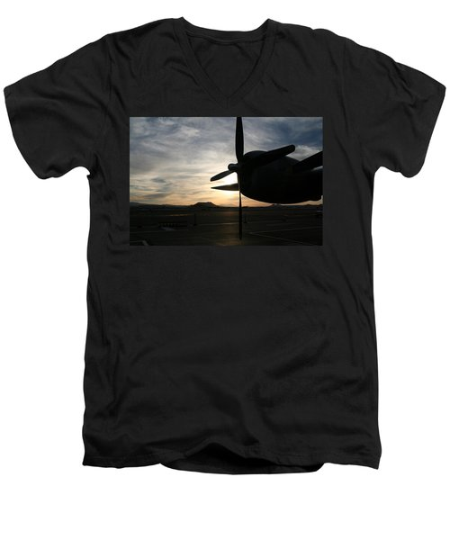 Men's V-Neck T-Shirt featuring the photograph Fi-fi Power by David S Reynolds