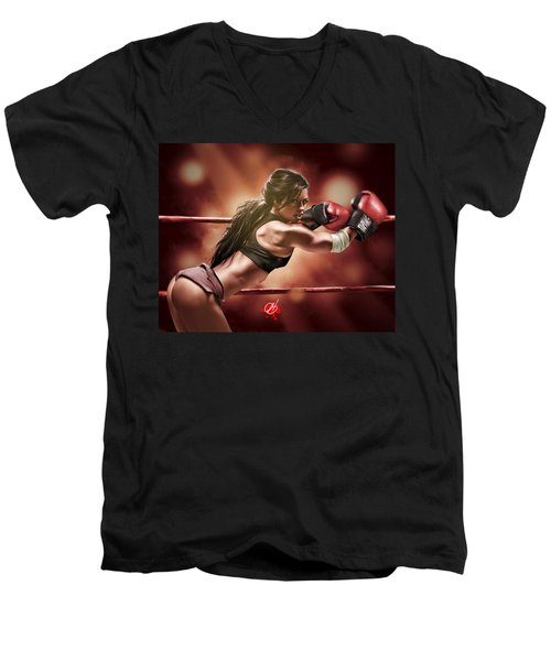 Fight Night Men's V-Neck T-Shirt
