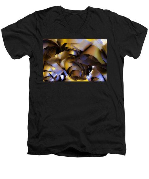 Fire And Steel Men's V-Neck T-Shirt