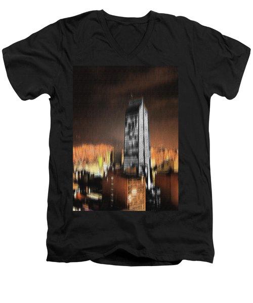 Fire Of Babylon Men's V-Neck T-Shirt