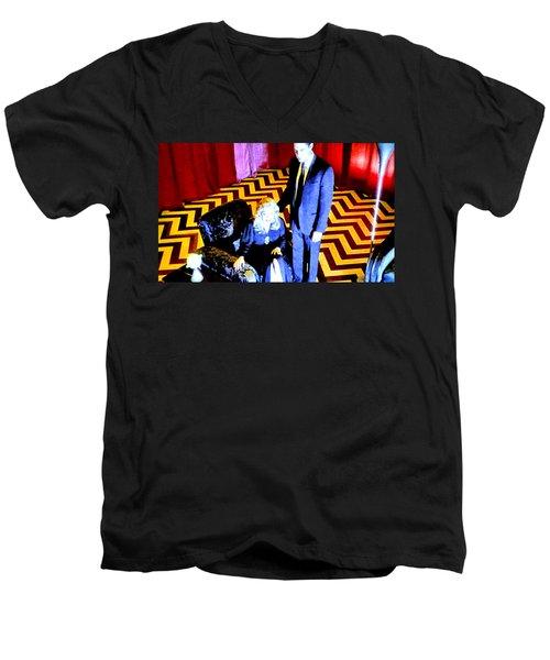 Fire Walk With Me Men's V-Neck T-Shirt