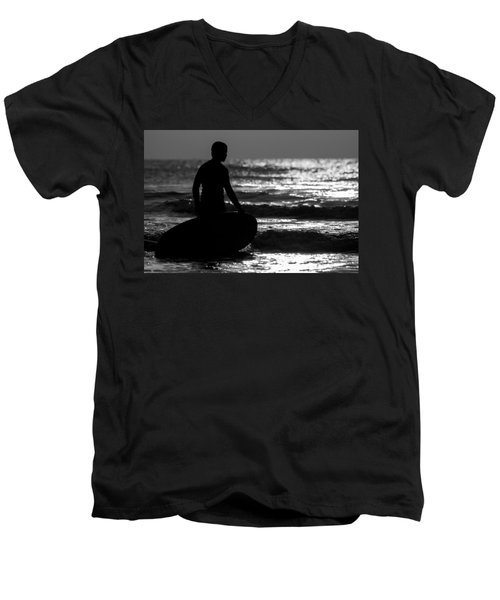 First Wave Men's V-Neck T-Shirt