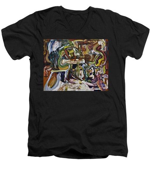 Fish Supper Men's V-Neck T-Shirt