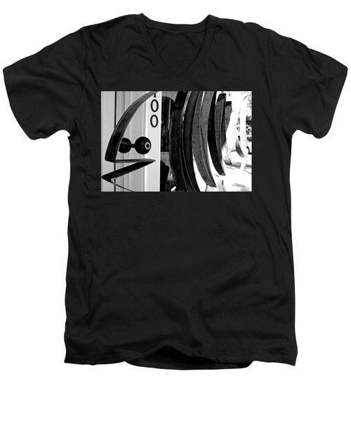 Fishbone Men's V-Neck T-Shirt