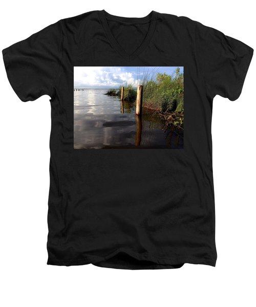 Fishermen's Paradise   Men's V-Neck T-Shirt