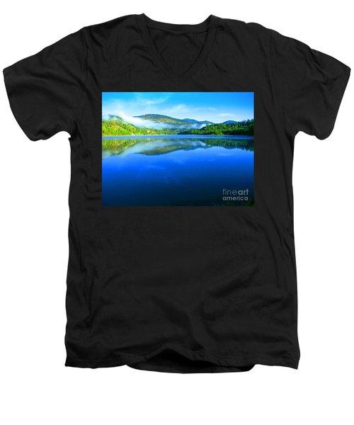 Fishing Spot 5 Men's V-Neck T-Shirt by Greg Patzer
