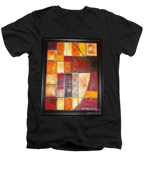 Fit Men's V-Neck T-Shirt
