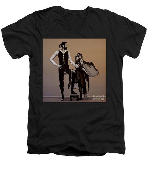 Fleetwood Mac Rumours Men's V-Neck T-Shirt