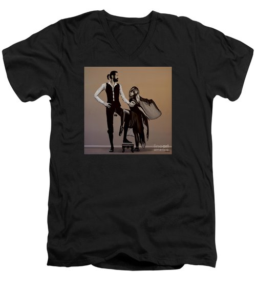 Fleetwood Mac Rumours Men's V-Neck T-Shirt