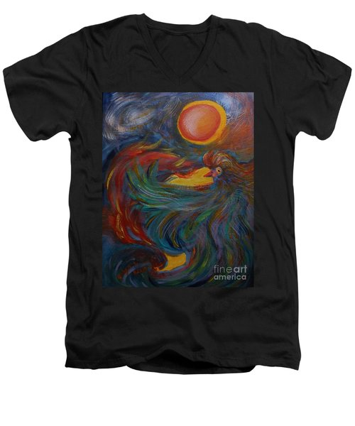 Flight Of The Phoenix Men's V-Neck T-Shirt