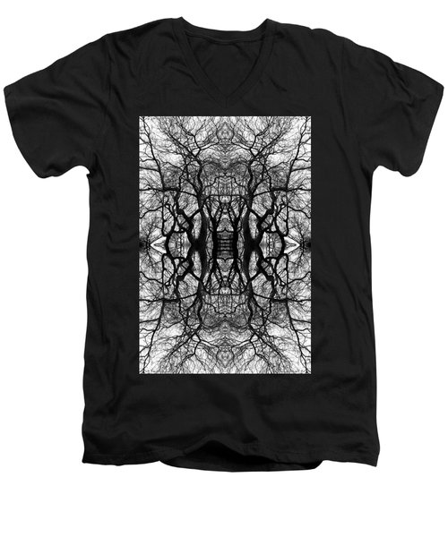 Tree No. 11 Men's V-Neck T-Shirt