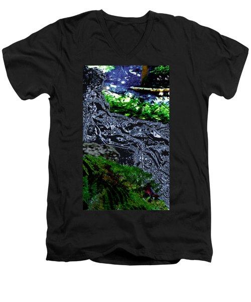 Flo Men's V-Neck T-Shirt