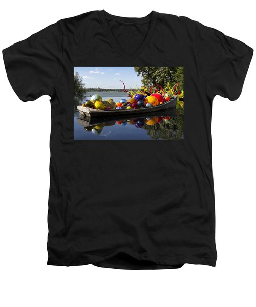 Float Boat Men's V-Neck T-Shirt