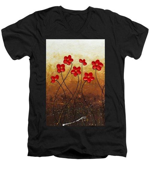 Flores De Mi Jardin 1 Men's V-Neck T-Shirt
