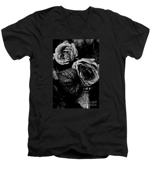 Flower Is Woman Men's V-Neck T-Shirt