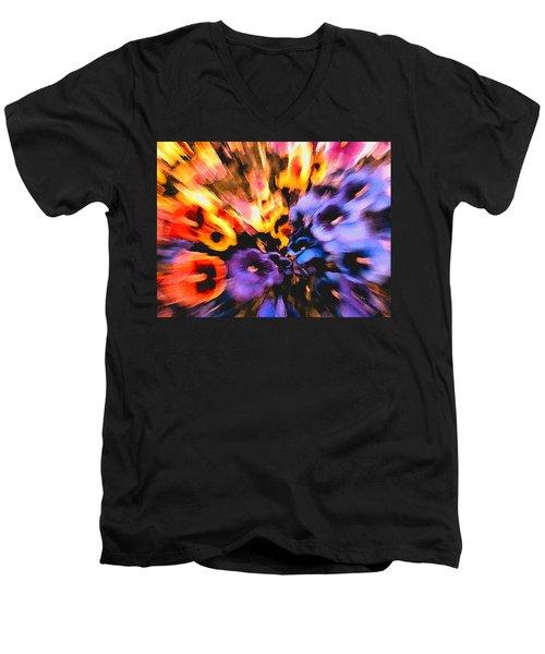 Flower Trip Men's V-Neck T-Shirt