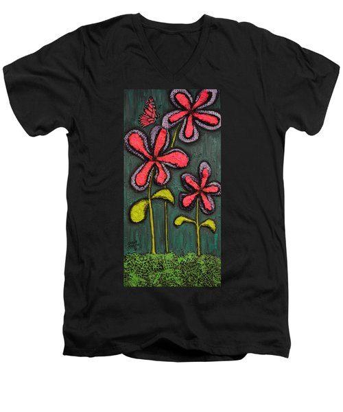 Flowers For Sydney Men's V-Neck T-Shirt