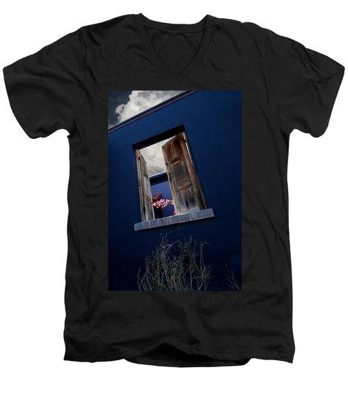 Flowers In The Presidio Men's V-Neck T-Shirt