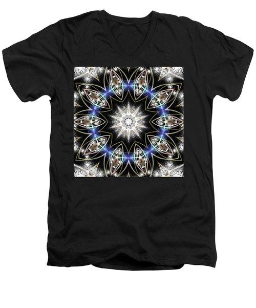 Flux Magnetism Men's V-Neck T-Shirt