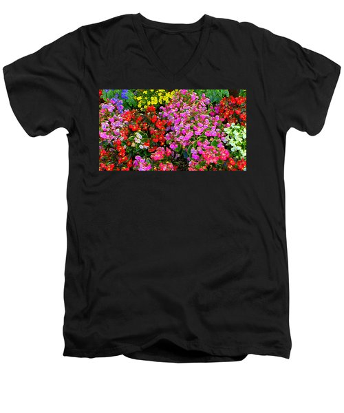Flwrs Test 1 Men's V-Neck T-Shirt