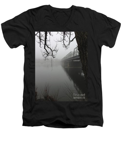 Foggy Morning In Paradise - The Bridge Men's V-Neck T-Shirt